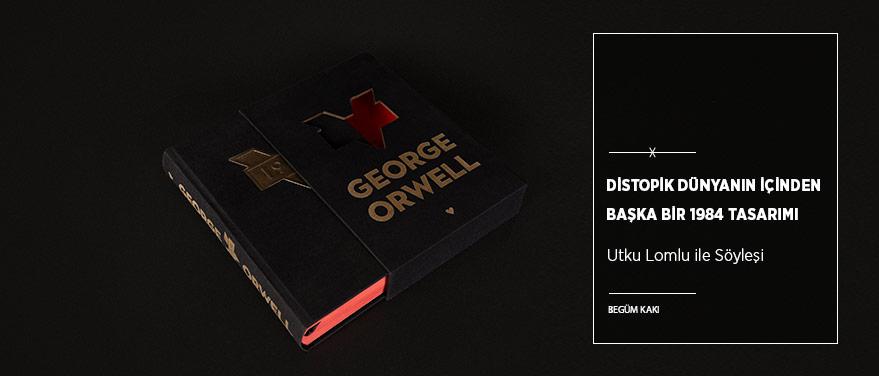 """Distopik Dünyanın İçinden Başka Bir """"1984"""" Tasarımı"""