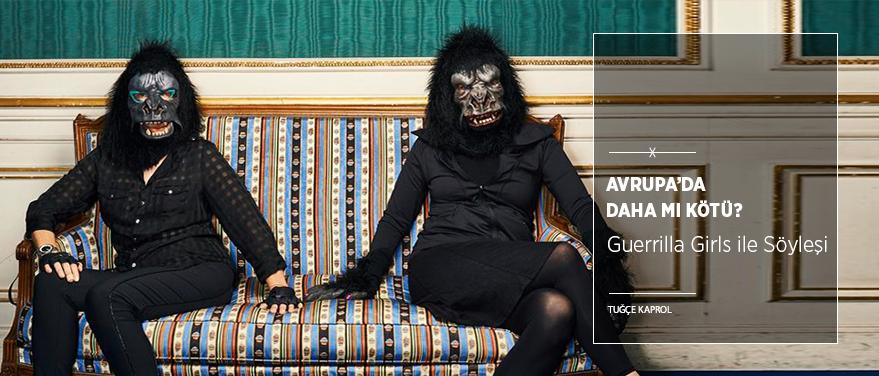 Guerrilla Girls Soruyor: Avrupa'da Daha mı Kötü?