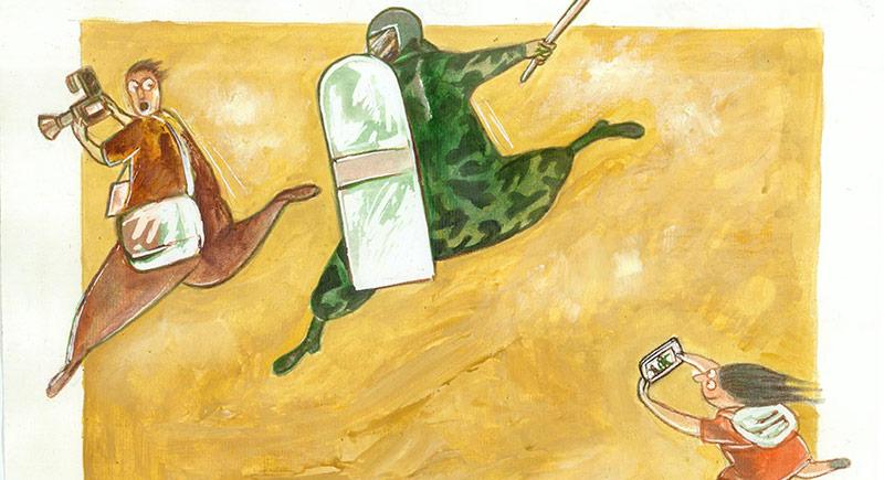 Aydın Doğan Uluslararası Karikatür Yarışması Sergisi