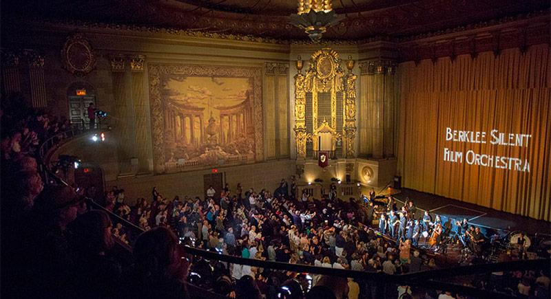 Berklee Silent Film Orchestra Phantom of the Opera ile Türkiye'de