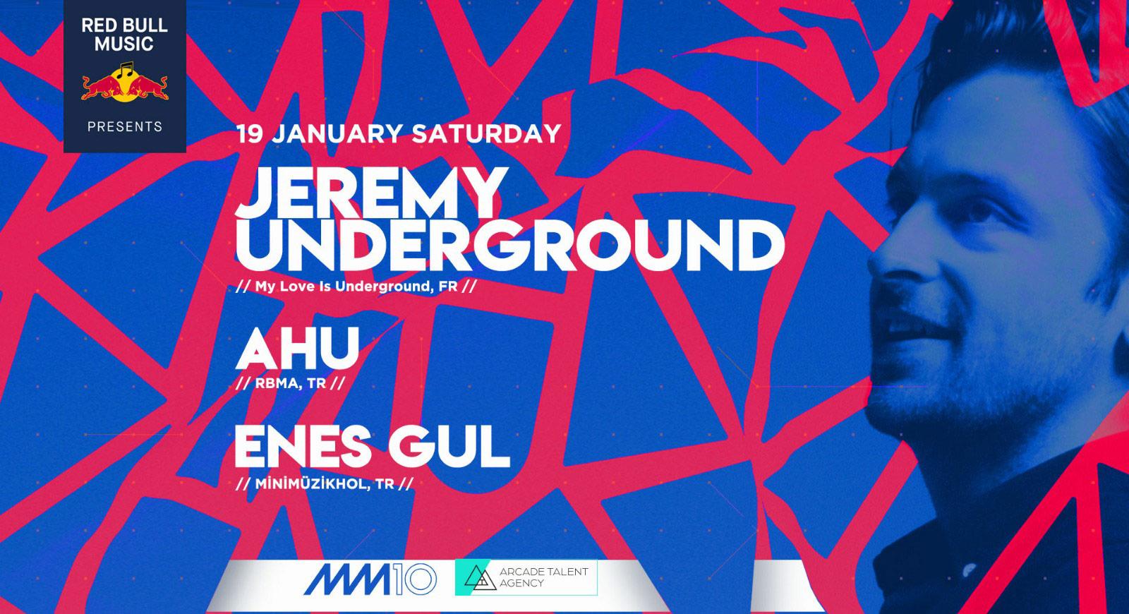 Jeremy Underground İstanbul'daki Dinleyicileriyle Buluşuyor