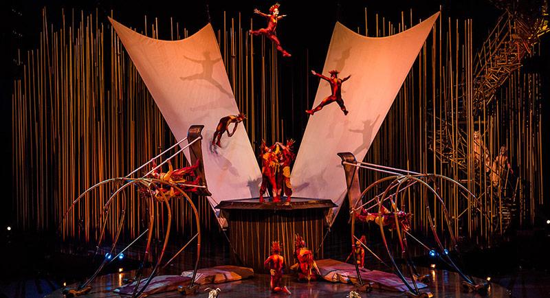 Cirque de Soleil Ekim'de İstanbul'da!