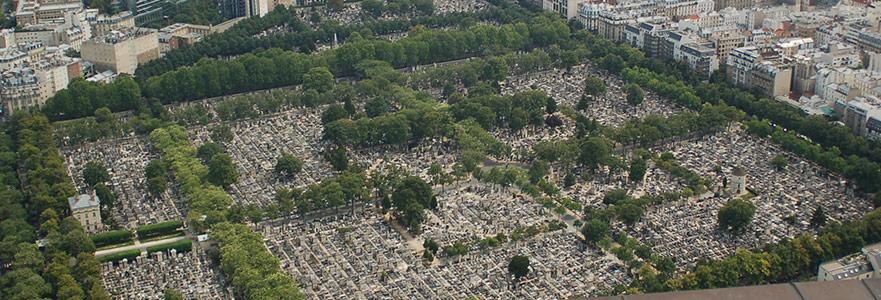 Montparnasse, Mezarlık