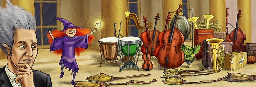 Cadı Süpürgesinin Üstünde Bir Müzik Yolculuğu