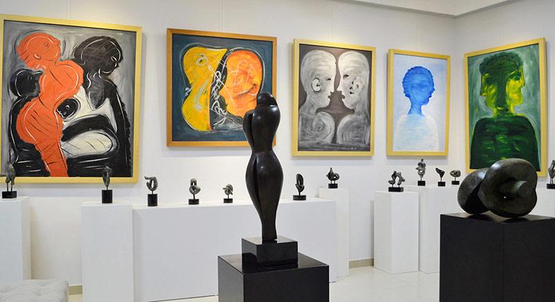 Abdülkadir Öztürk Sergisi Neva Art Gallery'de