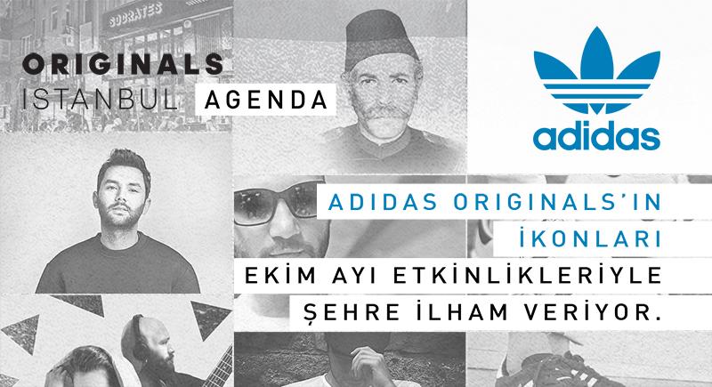 adidas Originals'ın İkonları Şehre İlham Veriyor