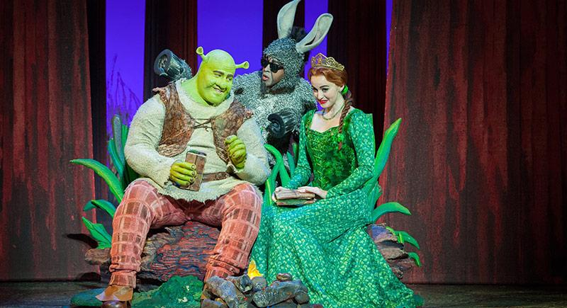 Broadway'in Ünlü Müzikali Shrek İstanbul'da