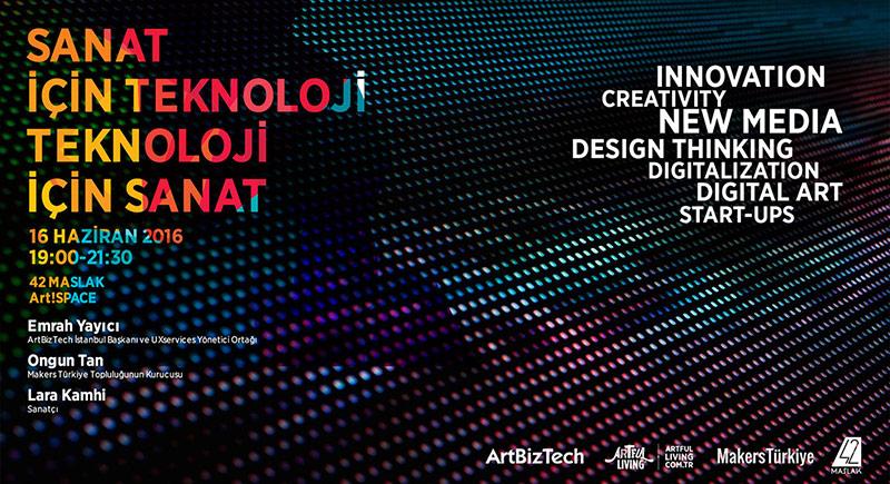 Sanat İçin Teknoloji - Teknoloji İçin Sanat