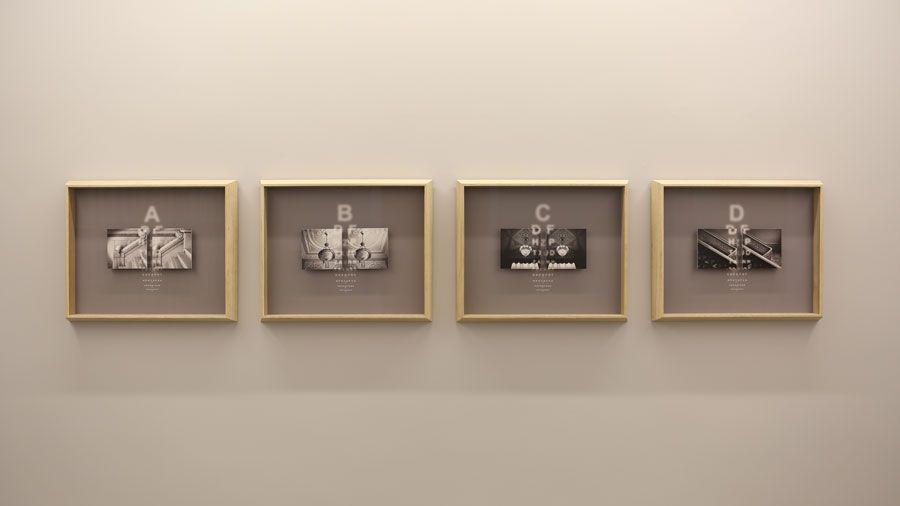 """Ahmet Elhan """"İkililer III"""" 2016(Sanatçı ve Zilberman Gallery'nin izniyle)"""
