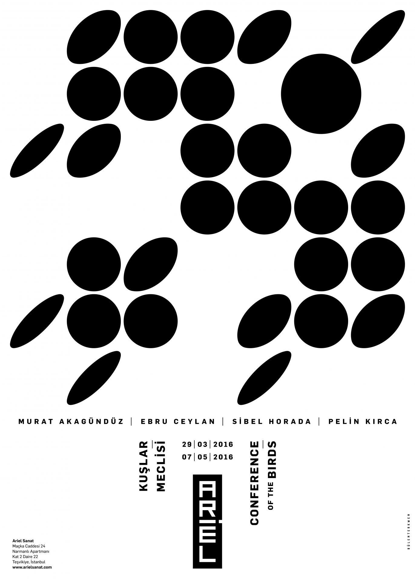 Afiş: Bülent Erkmen