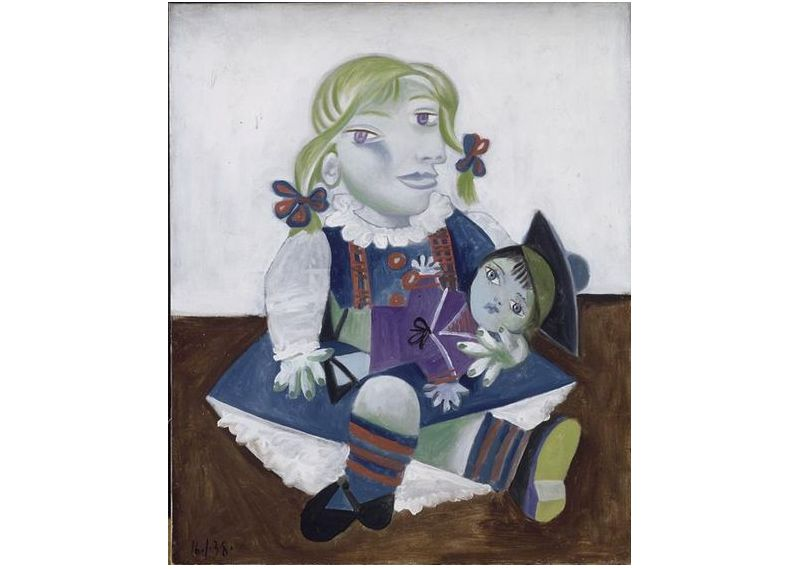 Maya bebekle. 1938 © Succession Picasso