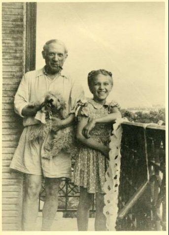 Picasso ve Maya : Baba ve kız